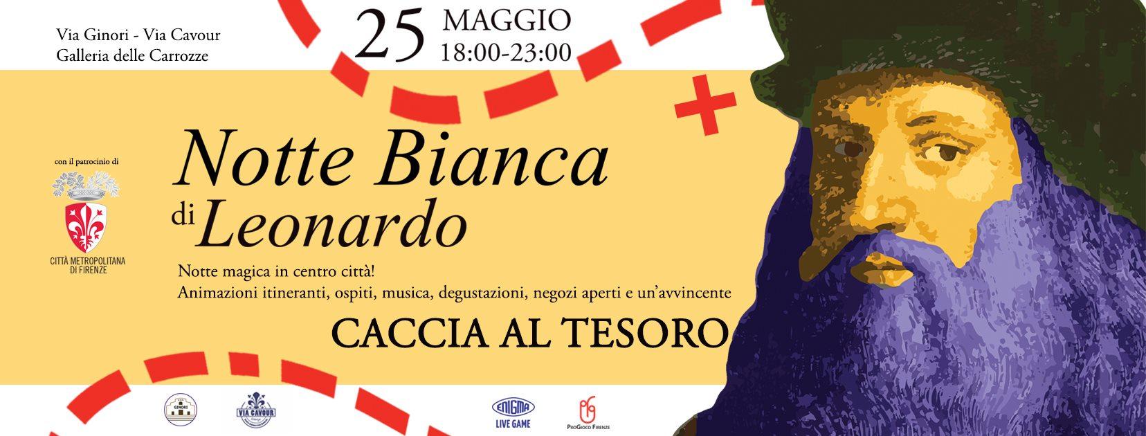 Notte Bianca di Leonardo – Caccia al tesoro – Firenze