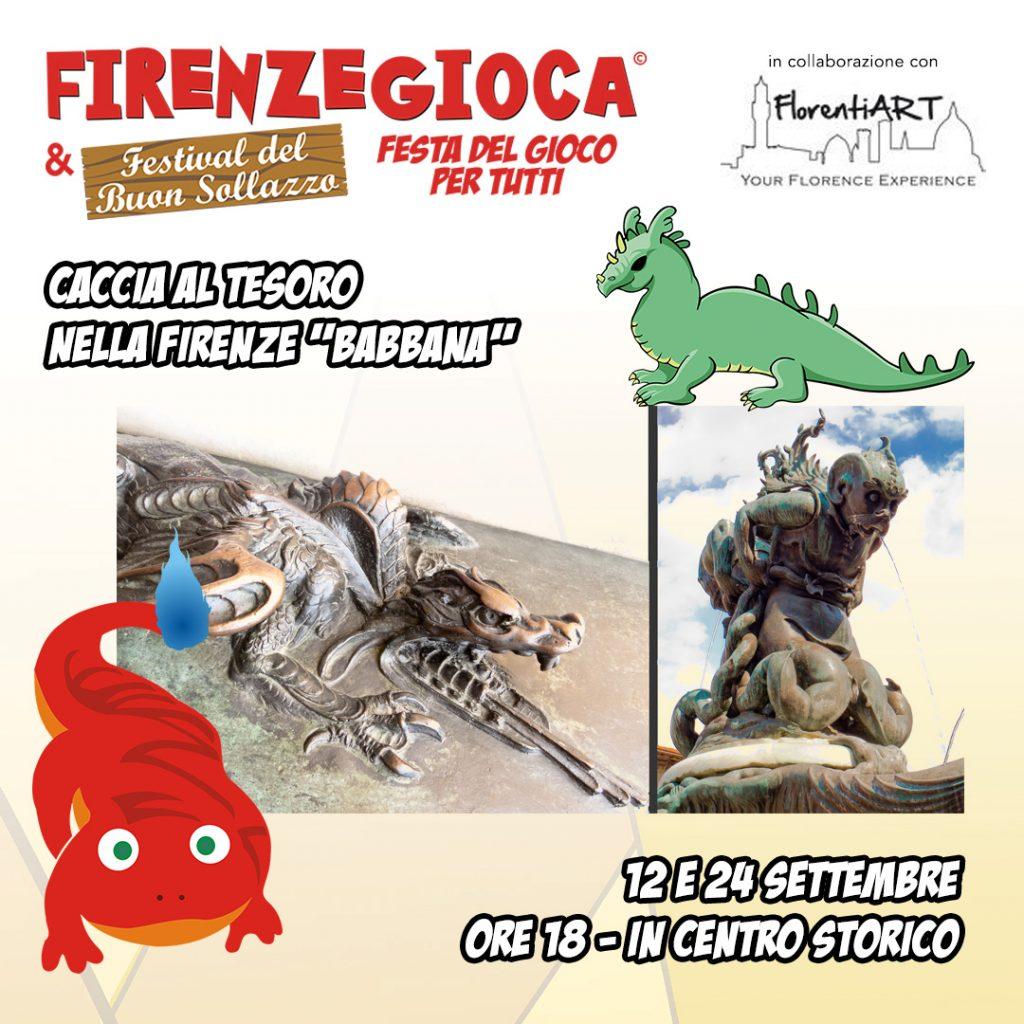 """Caccia al tesoro nella Firenze """"Babbana"""""""