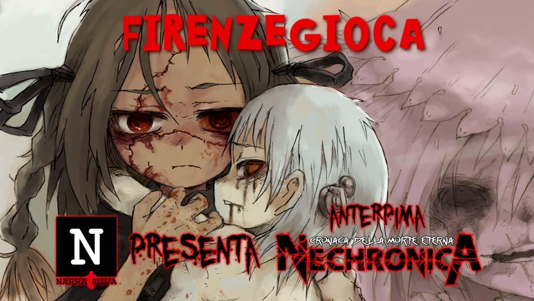 Narrattiva a FirenzeGioca con Nechronica – Cronaca della Morte Eterna