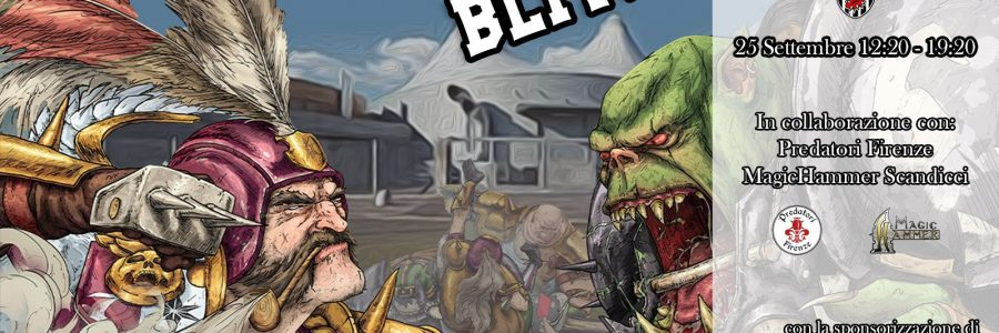 FIRENZEGIOCA BLITZ – Torneo di BLOOD BOWL sanzionato NAF