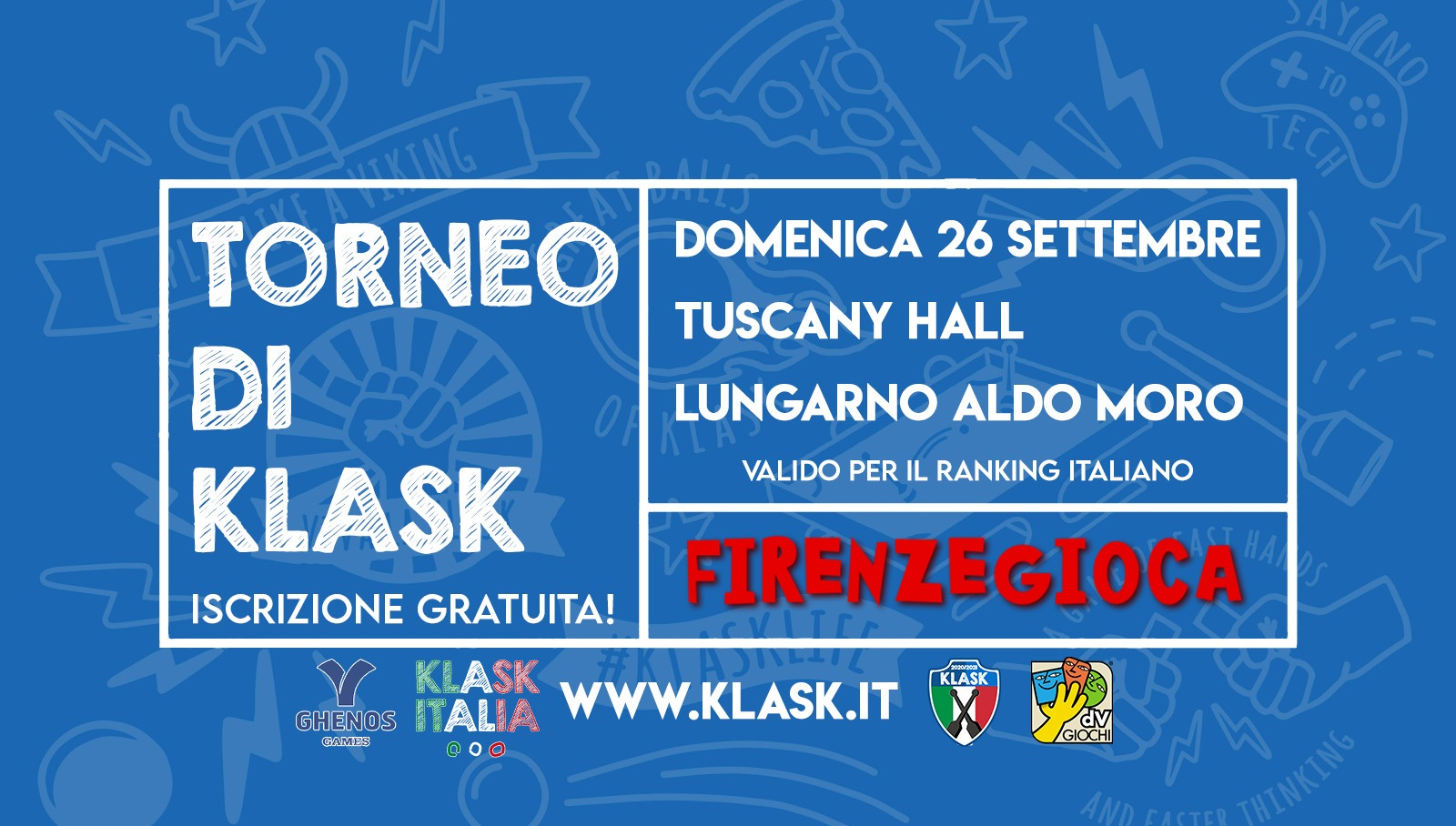 Torneo di KLASK valido per il campionato italiano